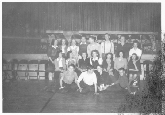Dad in junior high cast